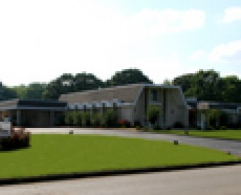 Exterior shot of Saints Funeral Home Incorporated