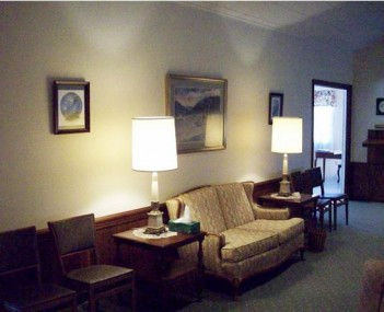 Interior shot of Hudson Valley Funeral Home