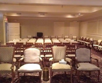 Interior shot of Beecher Funeral Home