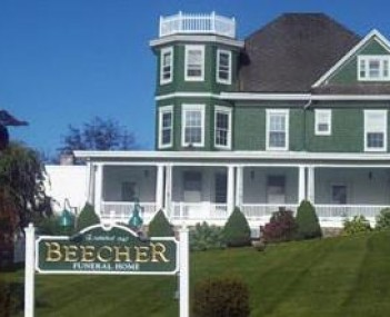 Exterior shot of Beecher Funeral Home