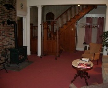 Interior shot of Clark Winter & Courtney Funeral Home