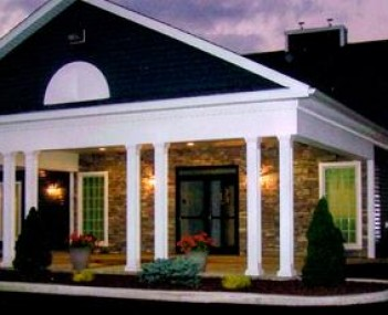 Exterior shot of Blauvelt Funeral Home