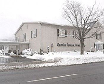 Exterior shot of Curtin Funeral Home Incorporated