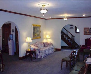 Interior shot of Caywood's Funeral Home & Grdns