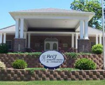 Exterior shot of Reiff Funeral Homes