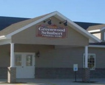 Exterior shot of Greenwood Funeral Home