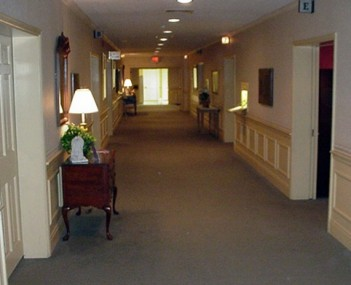 Interior shot of Runge Mortuary & Crematory