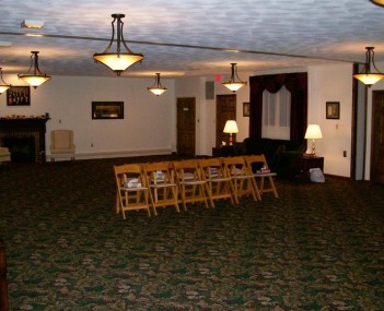 Interior shot of McDonald Funeral Home