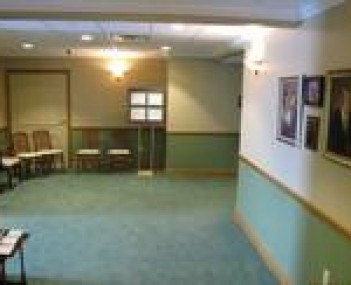 Interior shot of Mason-Gelder Funeral Home Incorporated