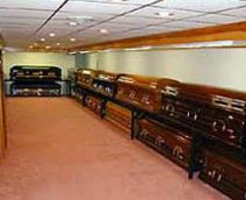 Interior shot of Bash-Nied Funeral Home