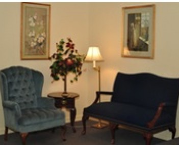 Interior shot of Bowser Minich Incorporated Funeral Home