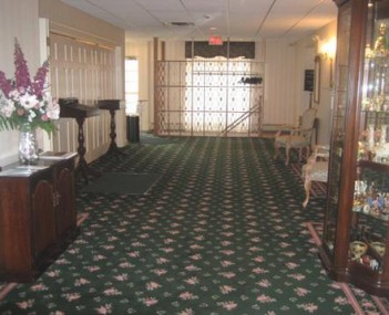 Interior shot of Wetzel and Son Funeral Home