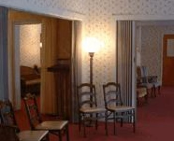 Interior shot of Bauer Funeral Home