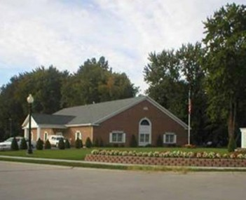 Exterior shot of David Family Funeral Home