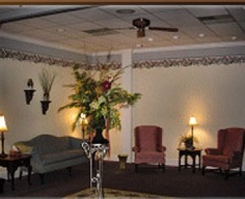 Interior shot of Davis Funeral Svc Incorporated