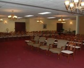 Interior shot of Silva-Hostetler Funeral Home