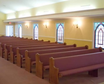 Interior shot of Joiner-Anderson Funeral Home