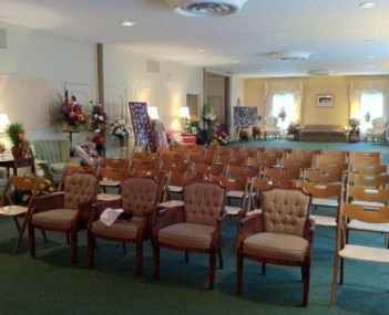 Interior shot of The Billow Funeral Homes & Crematory
