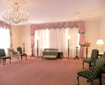 Interior shot of Lamiell Funeral Home