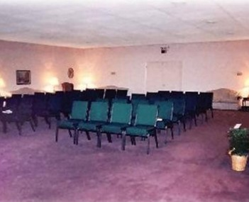 Interior shot of Jim Rush Funeral Homes
