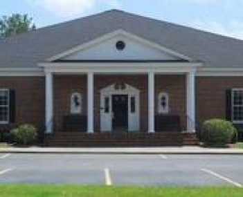 Exterior shot of Hughes & Wright Funeral Home