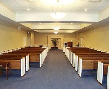 Interior shot of Brunswick Memorial Park Cemetary and Funeral Home