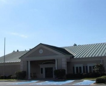 Exterior shot of Brunswick Memorial Park Cemetary and Funeral Home