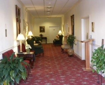 Interior shot of Gateway Forest Lawn Funeral Home Incorporated