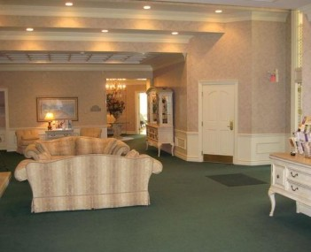 Interior shot of Irwin Chapel Funeral Home