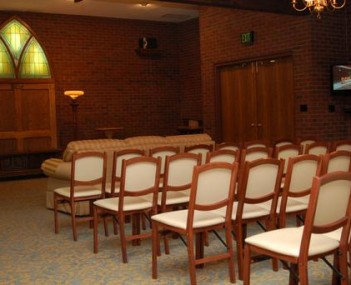 Interior shot of Herr Funeral Homes & Cremation