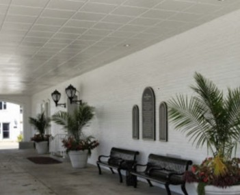 Interior shot of Staab Funeral Home