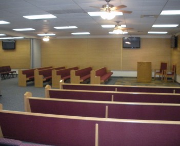 Interior shot of Sterling & Smith Funeral Dir Incorporated