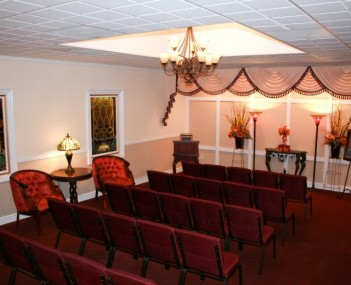 Hadley North Chapel provides comfort in a more intimate setting
