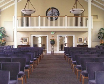 Our Funeral home chapel