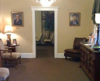 Interior shot of Stephenson-Shaw Funeral Home