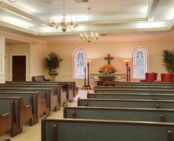 Interior Shot of Fielding EJ Funeral Home Incorporated