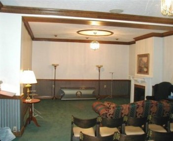 Interior shot of Lyon Dewitt Funeral Home Incorporated