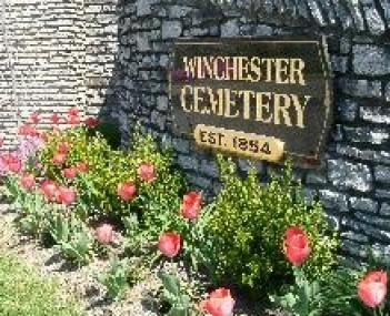 Exterior shot of Winchester Cemetery Company