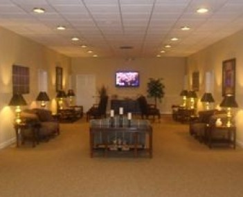 Interior shot of South Park Funeral Home and Cemetery