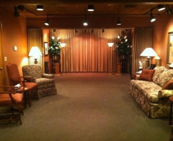 Interior shot of Hanson-Runsvold Funeral Home