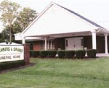 Exterior shot of Chambers & Grubbs Funeral Home