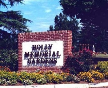 Exterior shot of Holly Memorial Gardens Incorporated