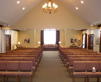 Interior shot of Day Funeral Home