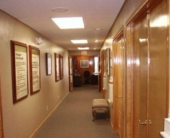 Interior shot of George Price Funeral Directors