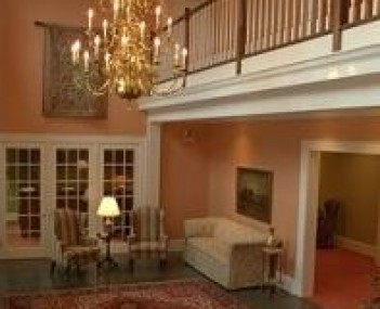 Interior shot of Glenn Funeral Home Incorporated