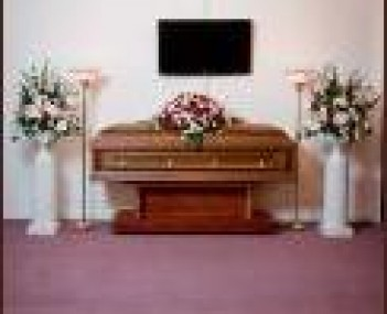Interior shot of Broomfield Funeral Home-Rundus