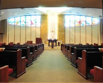 Interior shot of Archdiocese of Denver Mortuary