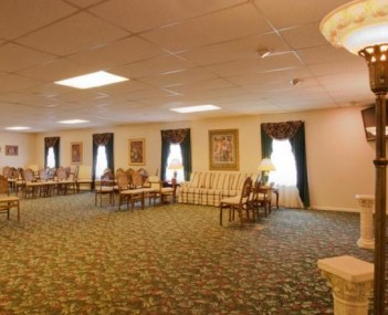 Interior shot of Holihan-Atkin Funeral Home