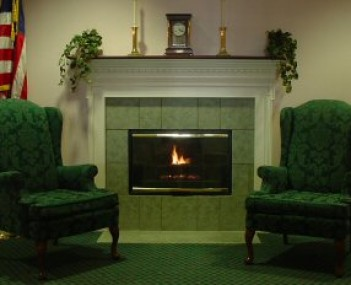 Interior shot of Hurst Funeral Home