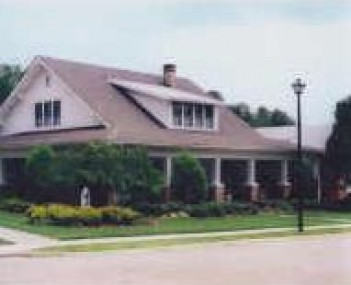 Exterior shot of Harrington Funeral Home & Chapel